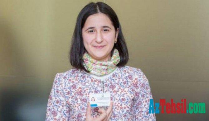 Reyhan Camalova dünya üzrə seçilmiş 15 nəfərdən biri olub