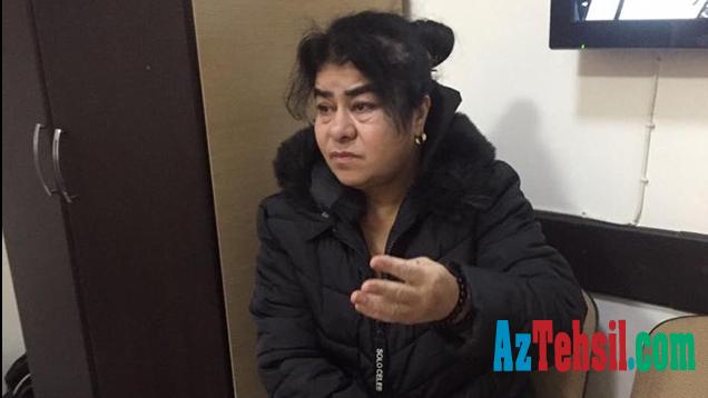 Polis məktəbdən uşaq oğurluğunda ittiham olunan qadını saxlayıb