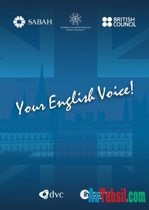 """""""Your English Voice"""" müsabiqəsinə qeydiyyat davam edir"""