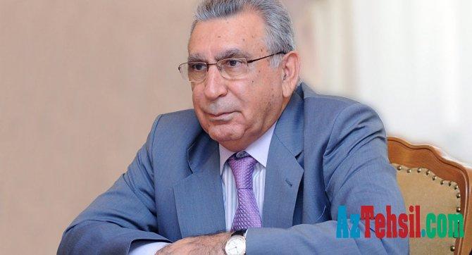 """""""Maaş artımı ilə bağlı Prezidentə müraciət etmişəm...""""- Ramiz Mehdiyev"""