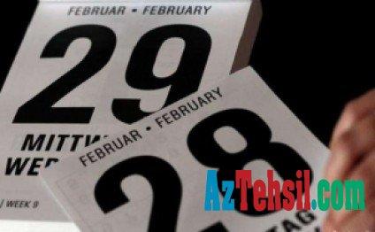 29 fevralın sirri