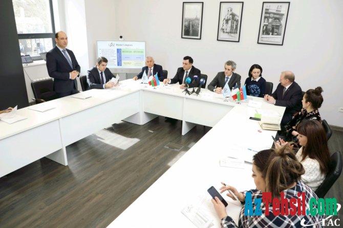 UFAZ-da magistratura proqramının təqdimatı olub