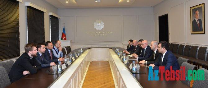 Ukrayna Ali Radasının nümayəndə heyətinin üzvləri ilə görüş