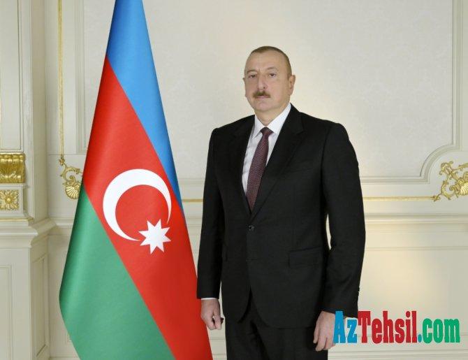 Prezident İlham Əliyev bir illik əməkhaqqı məbləğini Koronavirusla Mübarizəyə Dəstək Fonduna ianə edib