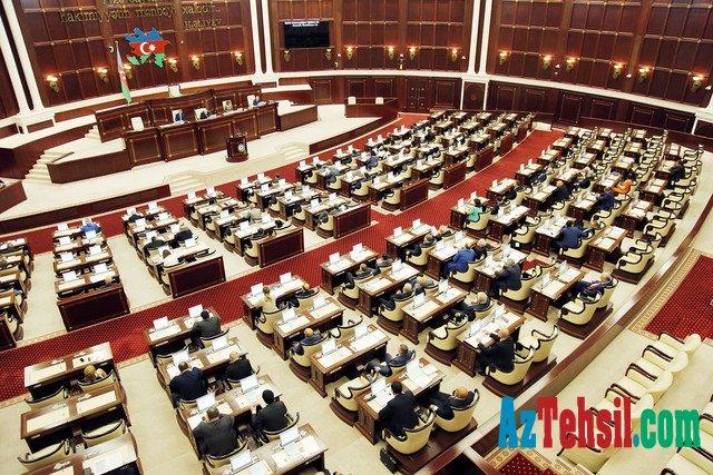 Milli Məclisin yaz sessiyasının növbəti plenar iclası başlayıb.