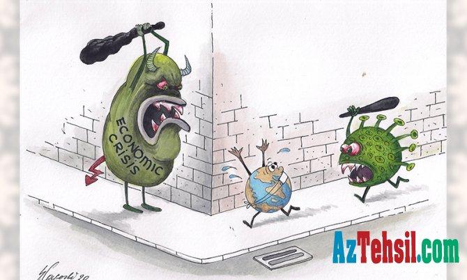 UNEC əməkdaşının koronovirusa həsr etdiyi karikatura dünyanın ən yaxşı TOP 10-da
