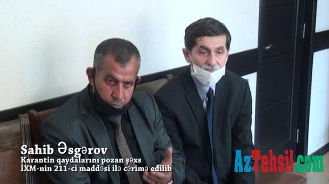 Saxta jurnalist vəsiqəsi təqdim edən məktəb direktoru saxlanılıb