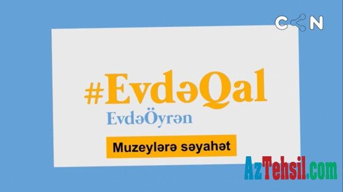Evdə qal və muzeylərə səyahət et