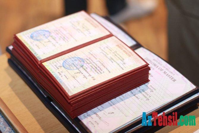 Diplomların tanınmasına görə rüsum ləğv edilir