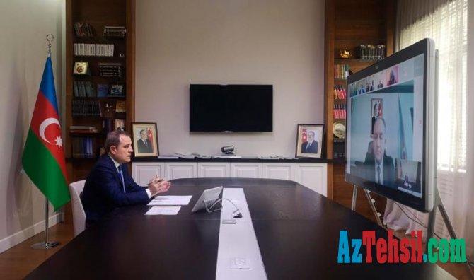 Təhsil naziri rektorlarla video-konfrans keçirib