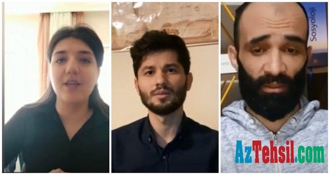 """Azərbaycanlı tələbələr: """"Vətənə dönmək istəyirik"""" – VİDEO"""