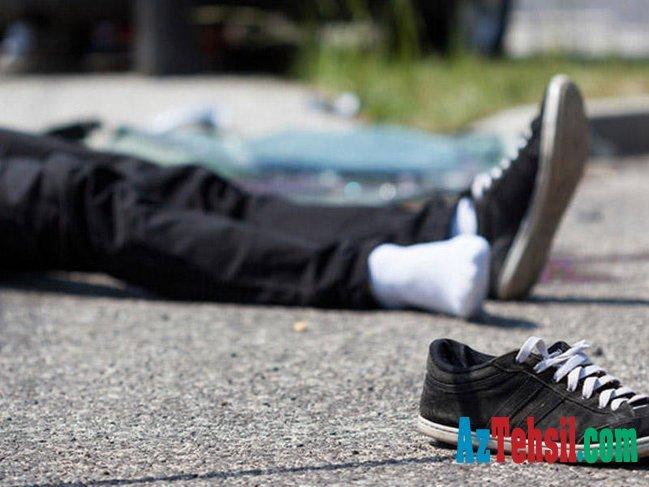 14 yaşlı məktəblini avtomobil vurdu
