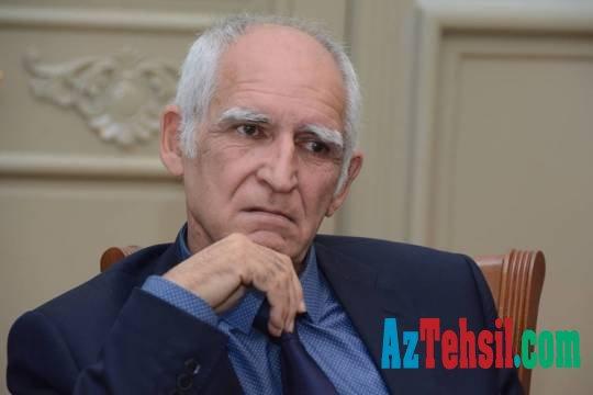 """Nadir İsrafilov: """"Göstəricilər zəif olarsa, bu təhsilin keyfiyyətinin aşağı olması demək deyil."""""""