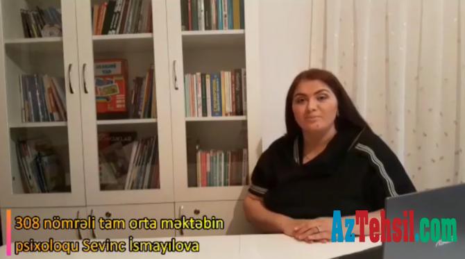 """""""Məktəb psixoloqundan tövsiyələr"""": IX videoçarx"""