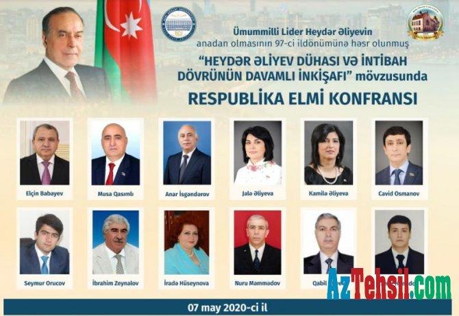 """""""Heydər Əliyev dühası və intibah dövrünün davamlı inkişafı"""""""