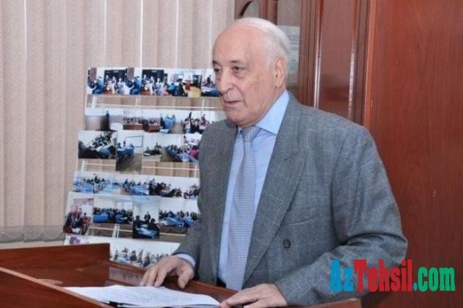 BDU professorunun əsərləri Dövlət Mükafatına təqdim edilib