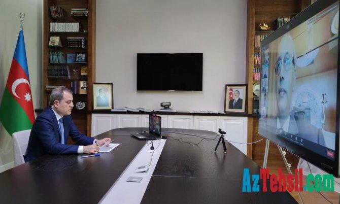İSESKO-ya üzv dövlətlərin Təhsil nazirlərinin videokonfransı
