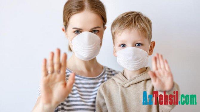 Uşaqların 90 faizi koronavirusa evdə yoluxur