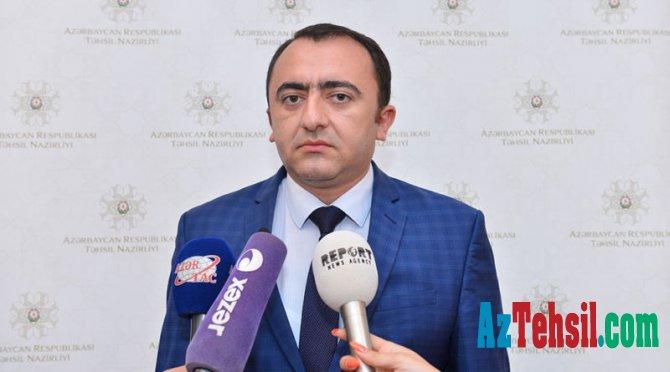 Orxan Abbasov: Şagirdlər arasında keçiriləcək qiymətləndirilmə monitorinq xarakterli olacaq