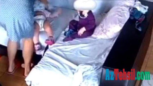 Uşaq baxçasında dəhşət:Tərbiyəçi körpəni yastıqla boğub öldürdü
