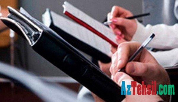 Jurnalistika üzrə magistratura ixtisaslaşmalarına qabiliyyət imtahanı keçirilib