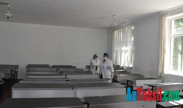 MDU-da növbəti tibbi-profilaktik və dezinfeksiya işləri
