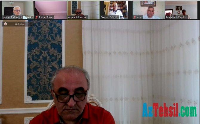 UNEC İctimai Nəzarət Şurasının üzvləri ilə imtahan sessiyasına hazırlıq müzakirə edildi