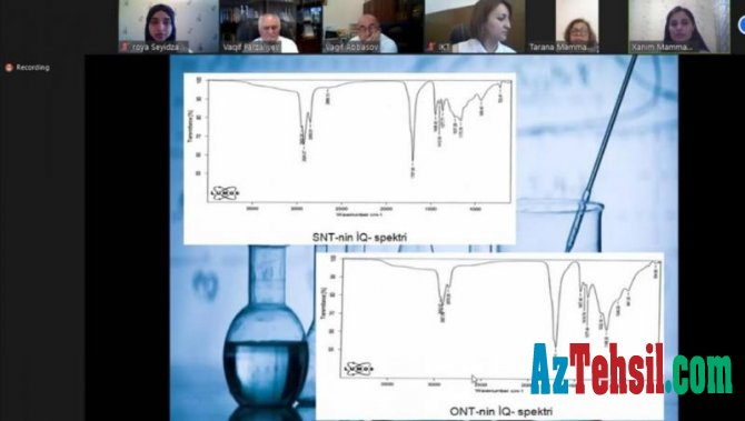 Neft-Kimya Prosesləri İnstitutunda magistrlik dissertasiyalarının müdafiəsi