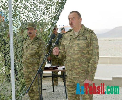 Prezident generalın anasına, polkovnikin oğluna zəng etdi - FOTOLAR
