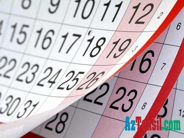 Qurban bayramında 4 gün qeyri-iş günü olacaq