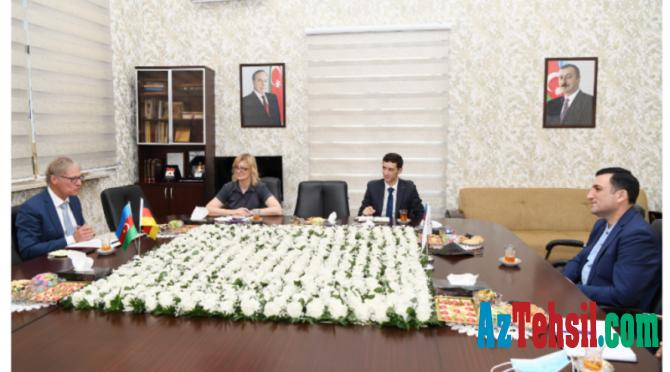 Azərbaycan Dövlət Neft və Sənaye Universiteti ilə Almaniyanın ali məktəbləri arasında əlaqələr genişlənir