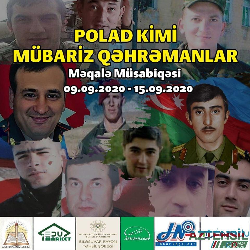 Səhidlər Olməz Vətən Bolunməz Aztehsil Com