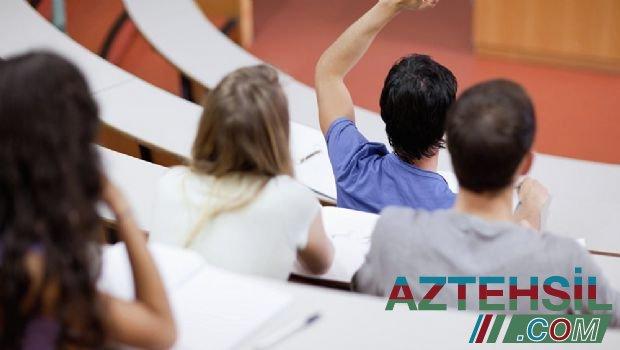 Plan yerləri dolan universitetlər açıqlandı - RƏSMİ