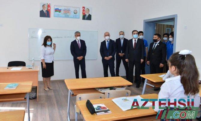 Heydər Əliyev Fondu tərəfindən 62 təhsil müəssisəsi istifadəyə verilir