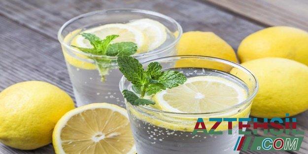 Hər səhər limonlu su içməyə 5 səbəb – FAYDALARI