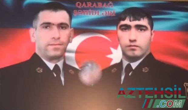 """İki övladını şəhid verən ana: """"Bir oğlumu dəfn edib gələndən sonra digərinin nəşini gətirdilər"""" - VİDEO"""