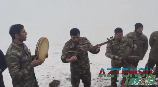 """Murov dağındakı əsgərlərimizdən """"Qarabağ şikəstəsi"""""""
