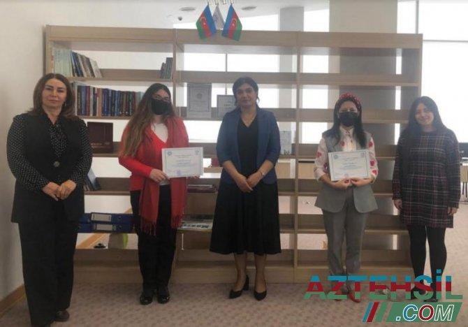 Vikipediya təlimlərinin iştirakçılarına sertifikatlar təqdim olunub