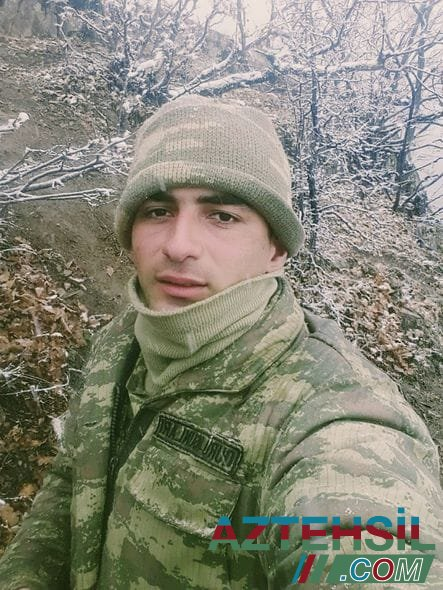 """""""Vətən uğrunda"""" medalı ilə təltif edilən şəhid Hüseyn Həmidzadə"""