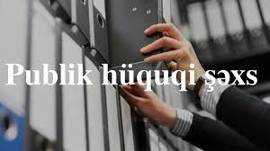 Publik Huquqi Səxs Nə Deməkdir Aztehsil Com