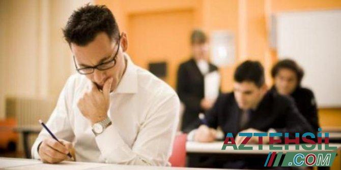 Dövlət qulluğu üzrə test imtahanlarına qeydiyyat davam edir