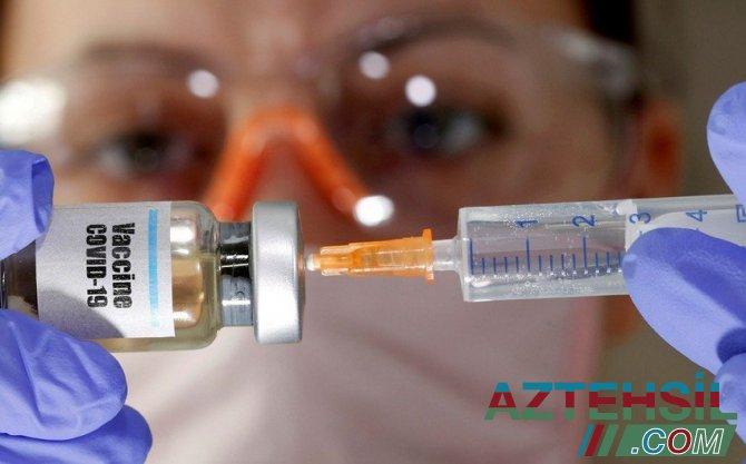 Vaksinasiya üçün yaş həddi açıqlandı