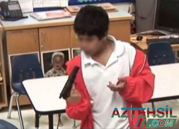 ABŞ-da əlinə dolu tapança keçən uşaq evdə anasını öldürdü - FOTO