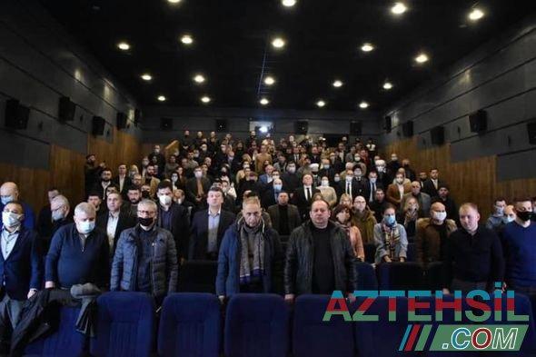Kiyevdə Xocalı soyqırımından bəhs edən sənədli film təqdim edilib - FOTO