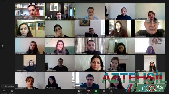 Bakı Ali Neft Məktəbində Xocalı soyqırımı qurbanları anılıb