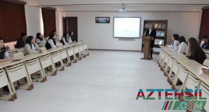 Naxçıvan Müəllimlər İnstitutunda məktəb psixoloqları üçün seminar