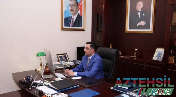 Elmar Qasımov İstanbul Texniki Universitetinin rektoru ilə görüşüb
