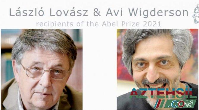 2021-ci il üzrə Abel mükafatı laureatlarının adları açıqlandı