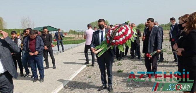 ADPU-nun şəhid məzunu doğum günündə ziyarət olunub
