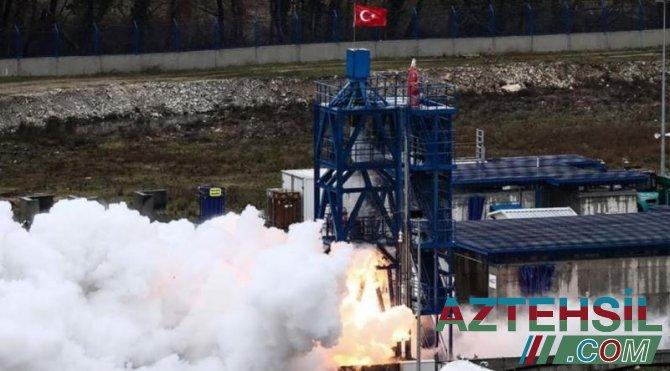Türkiyə Ay missiyası üçün hibrid mühərrikin uğurlu sınağını keçirib